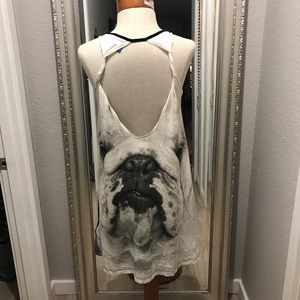 ADIDAS BULLDOG SLIP DRESS/TUNIC TOP